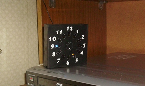 ساعت LED با انیمیشن
